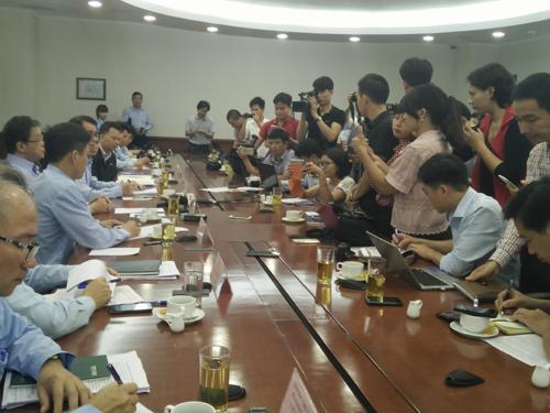 Formosa họp báo giải thích về phát ngôn của Giám đốc đối ngoại Chu Xuân Phàm