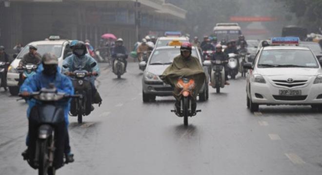 Mưa rào và dông rải rác trên cả nước, cảnh báo lũ ở Nghệ An