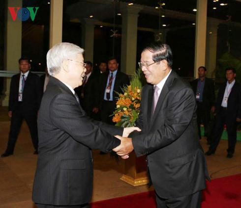 Việt Nam - Campuchia củng cố và phát triển tình đoàn kết hữu nghị