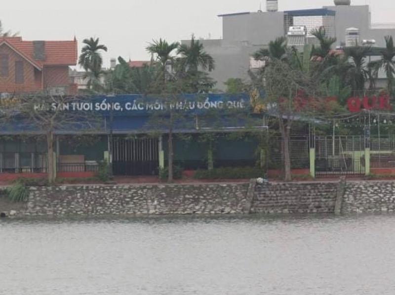 Hải Phòng: Làm rõ việc xây dựng trái phép ven hồ Phương Lưu