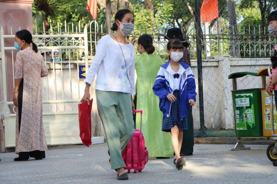 Thừa Thiên - Huế tiến hành đón học sinh trở lại trường học tập trong điều kiện bình thường mới.