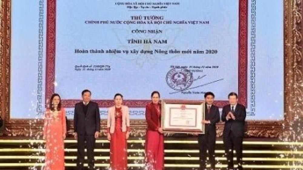 Hà Nam có 7 xã đăng ký đạt chuẩn NTM kiểu mẫu năm 2021
