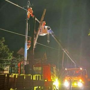 PC Đắk Nông đảm bảo sử dụng điện an toàn trong mùa mưa bão