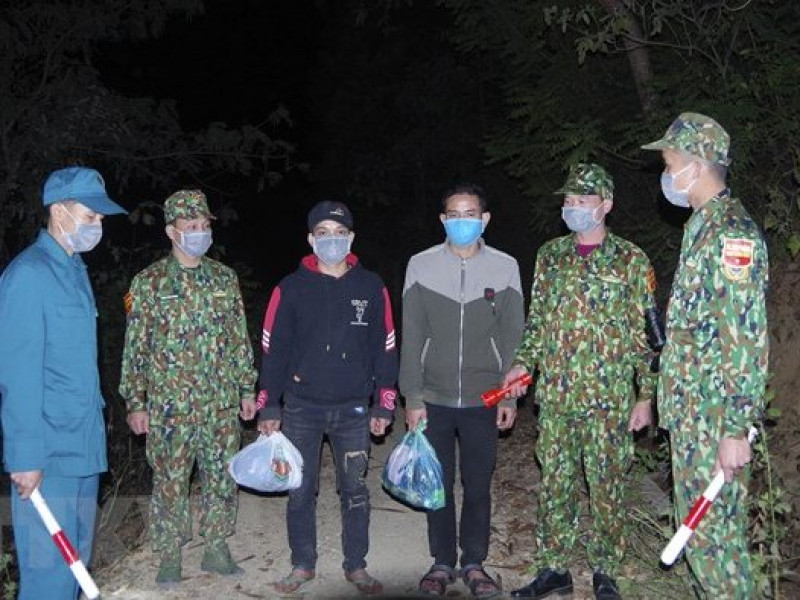 Liên tiếp phát hiện, bắt giữ nhiều nhóm người nhập cảnh trái phép qua biên giới